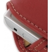Samsung S5620 Monte Sleeve Leather Pouch Case (Large/Red) handmade leather case by PDair
