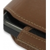 Nokia N900 Sleeve Leather Pouch Case (Extra Large/Brown) genuine leather case by PDair