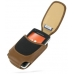 Sony Ericsson W960 Sleeve Leather Pouch Case (Large/Brown) custom degsined carrying case by PDair