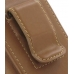 Samsung B3210 CorbyTXT Sleeve Leather Pouch Case (Large/Brown) protective carrying case by PDair