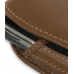 Samsung Jack SGH-i637 Sleeve Leather Pouch Case (Large/Brown) handmade leather case by PDair