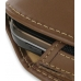 Samsung B5722 Sleeve Leather Pouch Case (Large/Brown) handmade leather case by PDair