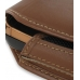 Samsung B7620 Giorgio Armani Sleeve Leather Pouch Case (Extra Large/Brown) handmade leather case by PDair