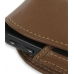 Samsung i7500 Galaxy Sleeve Leather Pouch Case (Large/Brown) genuine leather case by PDair