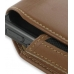Samsung ACE i325 Sleeve Leather Pouch Case (Extra Large/Brown) genuine leather case by PDair