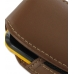 Samsung Corby2 Sleeve Leather Pouch Case (Large/Brown) handmade leather case by PDair