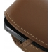 Samsung Galaxy Gio Sleeve Leather Pouch Case (Large/Brown) handmade leather case by PDair