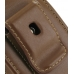 Samsung Galaxy Mini Sleeve Leather Pouch Case (Large/Brown) protective carrying case by PDair