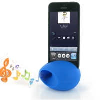 Acoustic Amplifier for Apple iPhone 5 | iPhone 5s (Blue Ellipse Shape)