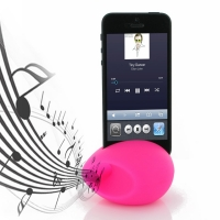 Acoustic Amplifier for Apple iPhone 5 | iPhone 5s (Pink Ellipse Shape)