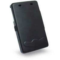 Acer n35 Aluminum Metal Case (Black) PDair Premium Hadmade Genuine Leather Protective Case Sleeve Wallet