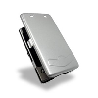Acer n35 Aluminum Metal Case (Silver) PDair Premium Hadmade Genuine Leather Protective Case Sleeve Wallet