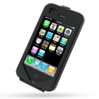 Aluminum Metal Case for Apple iPhone 3G | iPhone 3Gs (Black)