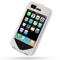Aluminum Metal Case for Apple iPhone 3G | iPhone 3Gs (Silver)