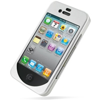 Aluminum Metal Case for Apple iPhone 4 | iPhone 4s (Silver)