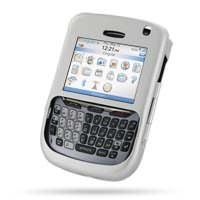 BlackBerry 8700 Aluminum Metal Case (Silver) PDair Premium Hadmade Genuine Leather Protective Case Sleeve Wallet