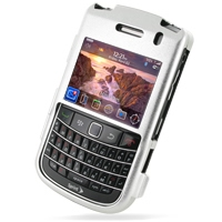 Aluminum Metal Case for BlackBerry Bold 9650 (Silver)