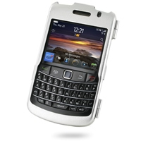 BlackBerry Bold 9780 Aluminum Metal Case (Silver) PDair Premium Hadmade Genuine Leather Protective Case Sleeve Wallet