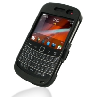 Aluminum Metal Case for BlackBerry Bold 9900 9930 (Black)