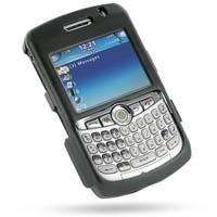BlackBerry Curve 8300 Aluminum Metal Case (Black) PDair Premium Hadmade Genuine Leather Protective Case Sleeve Wallet