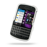 Aluminum Metal Case for BlackBerry Q10 (Silver)