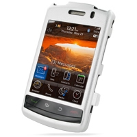 BlackBerry Storm 2 Aluminum Metal Case (Silver) PDair Premium Hadmade Genuine Leather Protective Case Sleeve Wallet