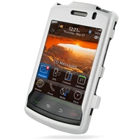 BlackBerry Storm 2 Aluminum Metal Case Ver.2 (Silver) PDair Premium Hadmade Genuine Leather Protective Case Sleeve Wallet
