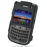 Aluminum Metal Case for BlackBerry Tour 9630 (Black)