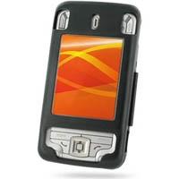 Eten Glofiish M700 Aluminum Metal Case (Black) PDair Premium Hadmade Genuine Leather Protective Case Sleeve Wallet