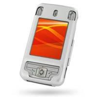 Eten Glofiish M700 Aluminum Metal Case (Silver) PDair Premium Hadmade Genuine Leather Protective Case Sleeve Wallet