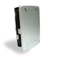 HP iPAQ hx4700 Series Aluminum Metal Case (Silver) PDair Premium Hadmade Genuine Leather Protective Case Sleeve Wallet