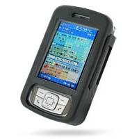 HP iPAQ rw6800 Series Aluminum Metal Case (Black) PDair Premium Hadmade Genuine Leather Protective Case Sleeve Wallet