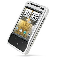 Aluminum Metal Case for HTC Aria (Silver)