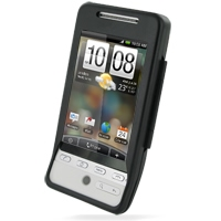 Aluminum Metal Case for HTC Hero (Black)