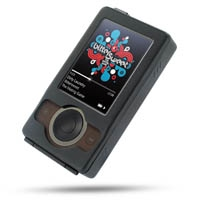 Microsoft Zune Aluminum Metal Case (Black) PDair Premium Hadmade Genuine Leather Protective Case Sleeve Wallet