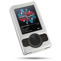 Microsoft Zune Aluminum Metal Case (Silver) PDair Premium Hadmade Genuine Leather Protective Case Sleeve Wallet