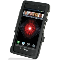 Aluminum Metal Case for Motorola Droid Razr Maxx (Black)
