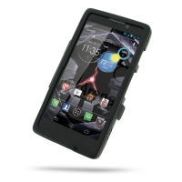Aluminum Metal Case for Motorola Droid Razr Maxx HD (Black)
