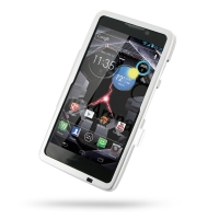 Aluminum Metal Case for Motorola Droid Razr Maxx HD (Silver)