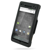 Aluminum Metal Case for Motorola Milestone A855 (Black)