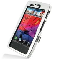 Aluminum Metal Case for Motorola RAZR XT910/Droid RAZR XT912 (Silver)