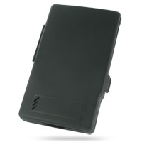 Nokia 770 Internet Tablet Aluminum Metal Case (Black) PDair Premium Hadmade Genuine Leather Protective Case Sleeve Wallet