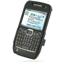Aluminum Metal Case for Nokia E71 (Black)