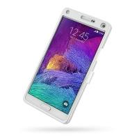 Aluminum Metal Case for Samsung Galaxy Note 4 | Samsung Galaxy Note4 | SM-N910 (Silver)