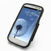 Aluminum Metal Case for Samsung Galaxy S III S3 GT-i9300 (Black)