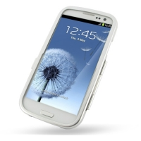 Aluminum Metal Case for Samsung Galaxy S III S3 GT-i9300 (Silver)
