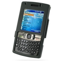 Aluminum Metal Case for Samsung SGH-i780 (Black)