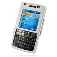 Aluminum Metal Case for Samsung SGH-i780 (Silver)