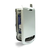 Aluminum Metal Case for Samsung SPH-i700 with Extended Battery (Silver)