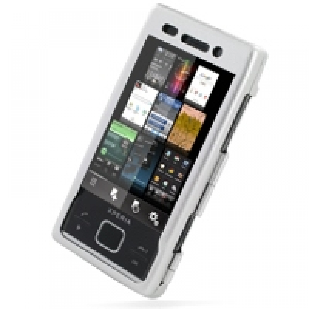 new style af252 2119c Aluminum Metal Case for Sony Ericsson Xperia X2 (Silver)